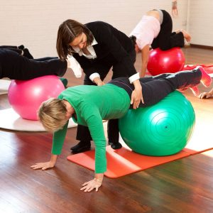 Pilates Fitball Floor Classes