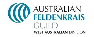logo of Australian Feldenkrais Guild - West Australian Division