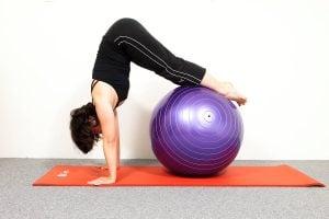 Pilates Fitball Floor Classes